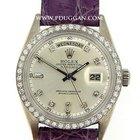 Rolex 18k white gold vintage Day / Date