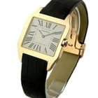 Cartier Santos Dumont Large Size - Rose Gold on Strap with...