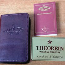 Theorein vintage warranty metal watch or chronograph and booklets