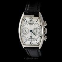 Franck Muller 18K WG  Dual Register Chronograph 5850 CC
