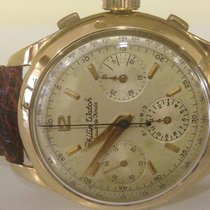 Philip Watch vintage chrono gold 18K - valjoux 72