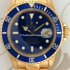 Rolex 16618 Submariner, Yellow Gold, L Series