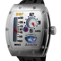 Azimuth Gauge Mecha-1 S/steel Case Bmf Watch Eta Auto Retro...