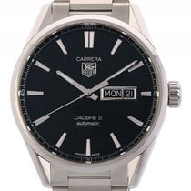 TAG Heuer Carrera Calibre 5 Day Date Stahl Automatik Stahlband...