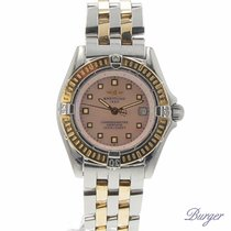 Breitling Callistino Gold/Steel MOP Dial