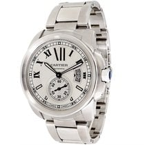 Cartier Calibre W7100015 Men's Watch in Stainless Steel