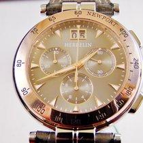 Michel Herbelin chrono bicolore acciaio e oro rosa