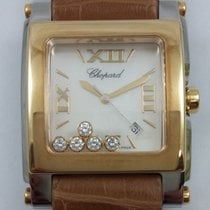 Chopard Happy Sport Square XL Floating Diamonds