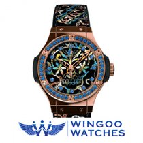 Hublot - BIG BANG - BRODERIE SUGAR SKULL GOLD Ref. 343.PS.6599...