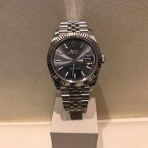 Rolex Datejust 41mm  Ref. 126334 dark rhodium dial +LAGERND+