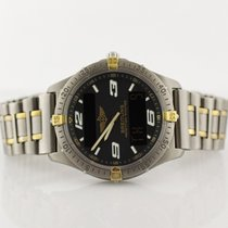 Breitling Professional Aerospace Two Tone Yellow Gold &...