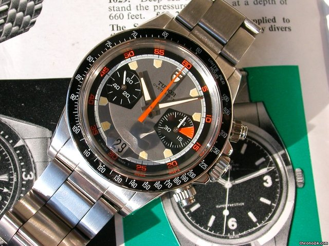 Tudor/Rolex Chronograph Ref.7031 &amp;#34;Home Plate&amp;#34; Porsche Chrono