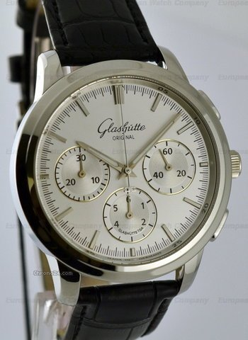 Glashtte Original Senator Chronograph SS