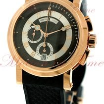 Breguet Marine II Chronograph, Black-Silver Dial - Rose Gold...