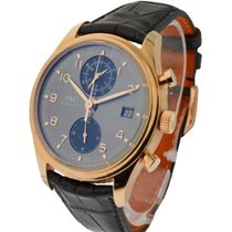 IWC Portuguese Chronograph Classic in Rose Gold