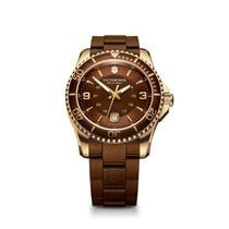 Victorinox Swiss Army Maverick large brown dial, brown and...