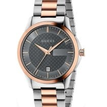 Gucci G-Timeless Anthracite Gucci Dial 38mm YA126446 T