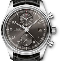 IWC Portuguese Chronograph Classic - Stainless Steel IW390404