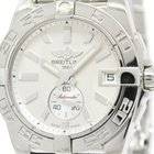 Breitling Galactic 36 Steel Automatic Mens Watch A37330...