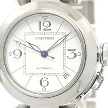 Cartier Pasha C Steel Automatic Unisex Watch W31074m7 (bf107954)