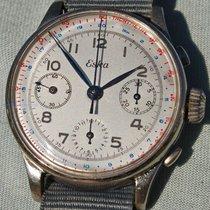Chronograph Eska Storico Anni '40 Stile Militare Movimento...