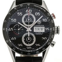 TAG Heuer Carrera 43 Automatic Day Date Leather