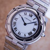 Cartier Swiss Made Stainless Steel Quartz Mid Size 32mm ...