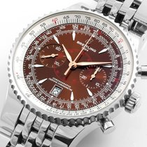 Breitling Montbrilliant Steel 46mm Chronographe A23340 w/ Papers