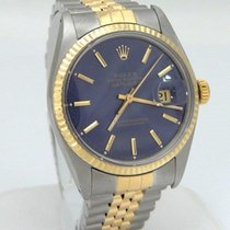 Rolex Men Vintage 1979 Rolex Oyster Datejust Quick Set Rare...