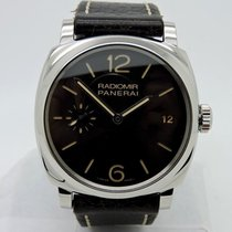 Panerai Radiomir 1940 Black Dial Brown Leather Watch PAM00514