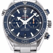 Omega 232.90.46.51.03.001 Seamaster Planet Ocean Chrono Men...