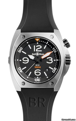 Bell &amp;amp; Ross BR02-92 Automatic 44mm