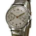 Cyma Vintage Chronograph, Stainless Steel, Bj. 1940