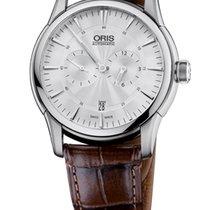Oris Artelier Regulateur Leather Bracelet