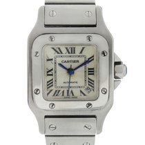 Cartier Santos W20054D6 Stainless Steel Ladies Watch