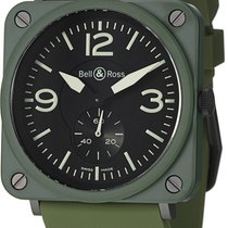 Bell & Ross Aviation BRS BRS Military Ceramic BRS-MLTRYCRMCRB