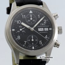 IWC Flieger Chronograph 3706 Box Papers Serviced