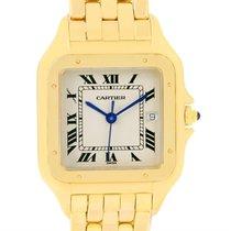 Cartier Panthere Xl 18k Yellow Gold Date Unisex Watch W25014b9
