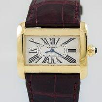 Cartier Tank Divan lady Gold Case Quartz