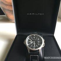 Hamilton Swiss watch Hamilton KHAKI NAVY GMT H77615733 Black....