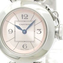Cartier Polished Cartier Miss Pasha Steel Quartz Ladies Watch...