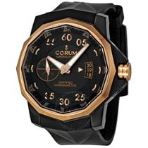 Corum Admirals cup titan / pvd / 18k gold 48mm Competition