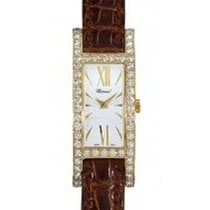 Chopard 137187-0001 H Watch in Yellow Gold with Diamond Bezel...