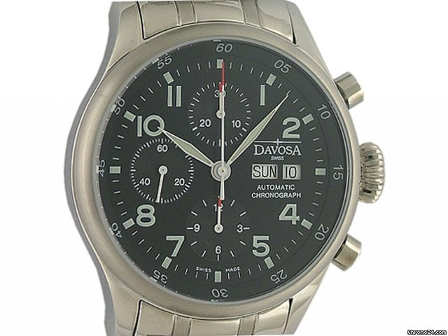 Davosa Pilot Chronograph Automatic 42mm