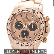Rolex Daytona 18k Rose Gold Pink Dial 40mm