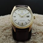 Rolex DAY-DATE 1803 18K Gold with Original Silver Linen...