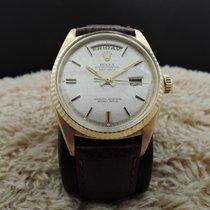 勞力士 (Rolex) DAY-DATE 1803 18K Gold with Original Silver Linen...