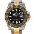 Rolex 116713 GMT II Two Tone Ceramic Bezel Watch