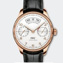 IWC PORTOGHESE CALENDARIO ANNUALE 18K RED GOLD