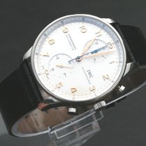 IWC Portugieser AUTOMATIK Chronograph Box Papiere Top